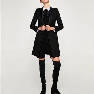 Zara Long Black Blazer